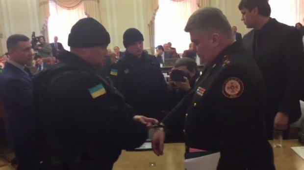 Голову ДСНС Бочковського затримали в Кабміні