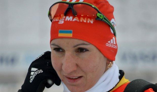 Лидер биатлонной сборной Украины Пидгрушная порвала связки на ноге