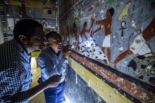 """""""Писанка єгипетська"""": археологи знайшли легендарну гробницю, обмальовану магічними посланнями"""