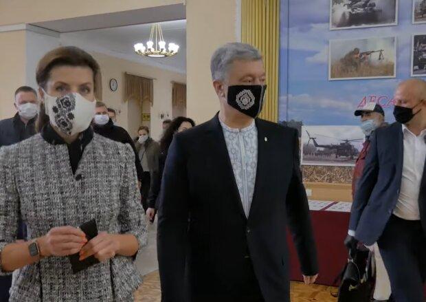 Петро і Марина Порошенко, фото: кадр з відео