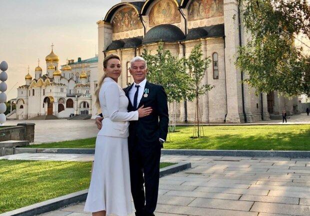 Олег Газманов с женой, фото: instagram.com/oleggazmanov