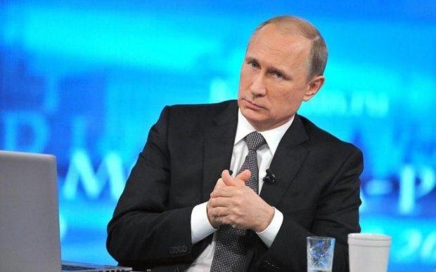 Пряма лінія з Путіним: з'явився український слід