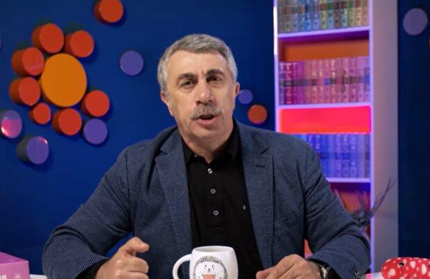 Евгений Комаровский, кадр из видео: YouTube Доктор Комаровский