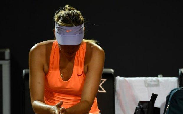 Рим (WTA): Шарапова знялася з турніру через травму