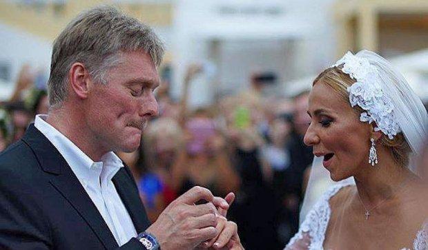 Прес-секретар Путіна одружився з Тетяною Навкою