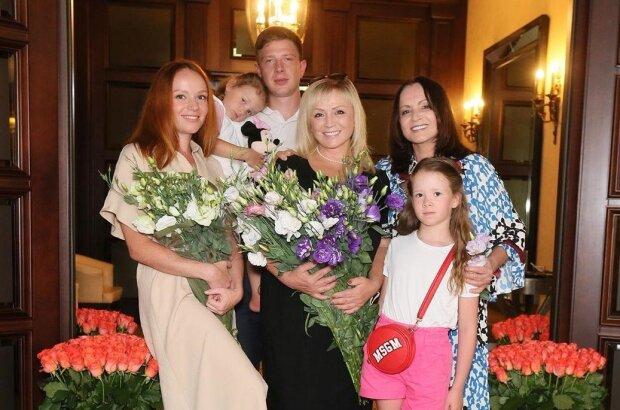 София Ротару с семьей, фото Instagram