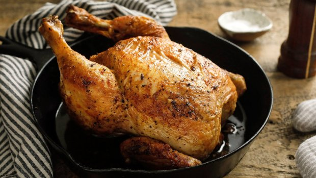 Самый быстрый рецепт запеченой курицы