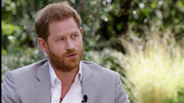 Принц Гарри, фото: скриншот из интервью