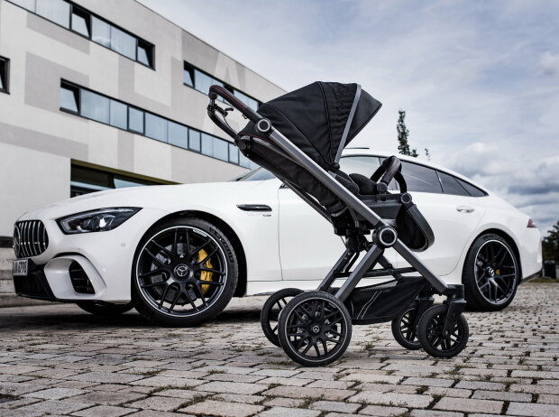 Mercedes-AMG Baby Stroller, carscoops