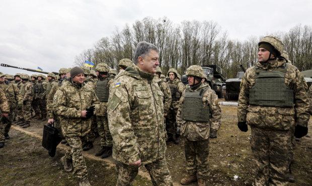 Порошенко на Донбасі