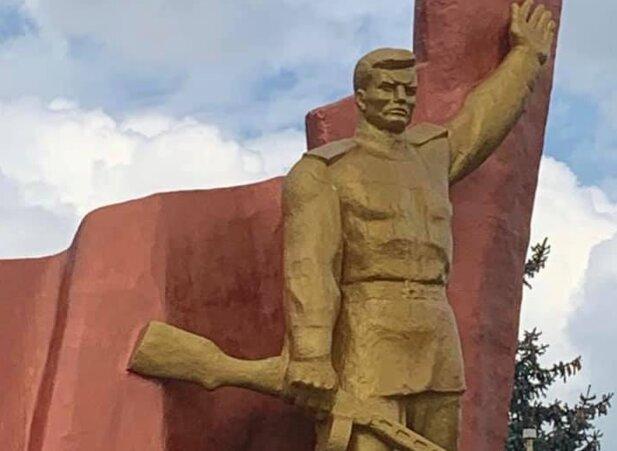 Памятник солдату, фото facebook