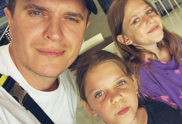 Анатолій Анатоліч з доньками, instagram.com/anatoliyanatolich