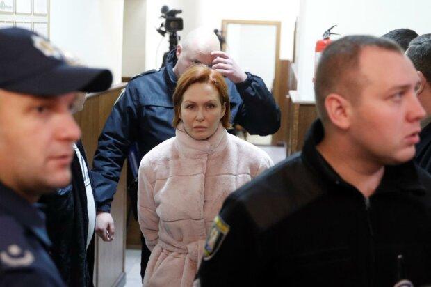 Подозреваемая Кузьменко, фото: Униан