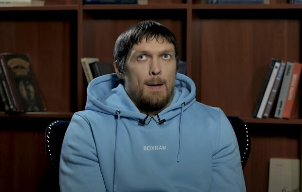 Александр Усик, скриншот: YouTube