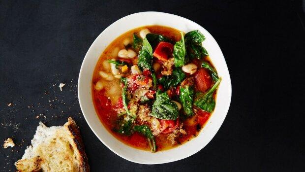 Чудесный рецепт пряного супа из фасоли