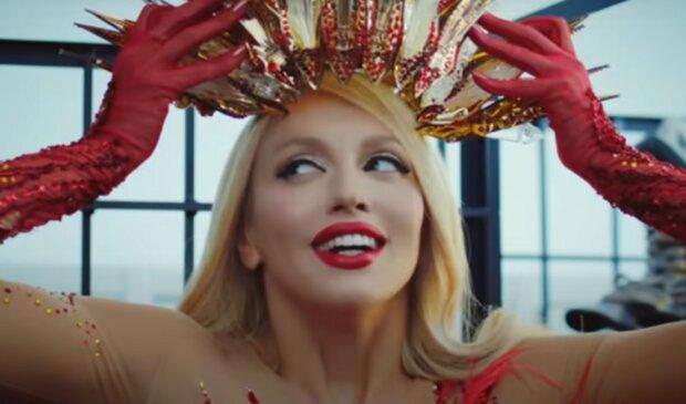 Полякова, скриншот из видео