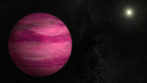 Розовая планета, NASA