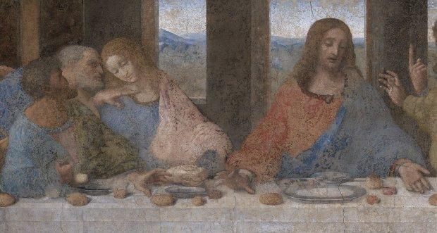 """Третє око Ісуса: на """"Таємній вечері"""" знайшли захований код да Вінчі"""
