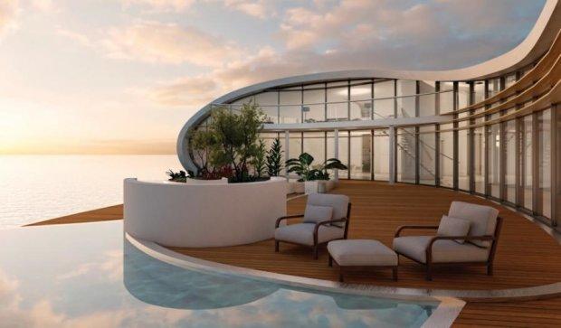 Плаваючі будинки майбутнього з'являться в Дубаях (ФОТО)