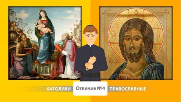 У чому різниця між католиками і православними? Новий YouTube канал відповість просто на складні питання