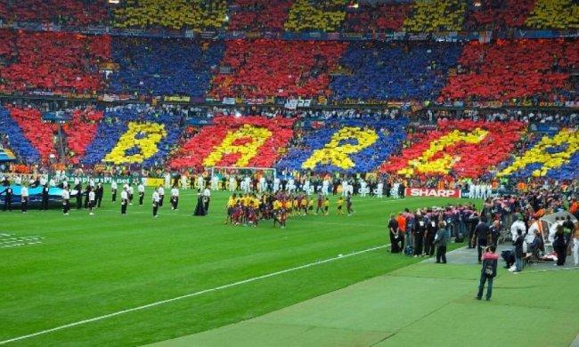 УЕФА накажет «Барселону» за хамство болельщиков (видео)