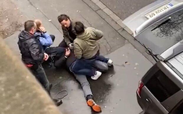 ДТП в Німеччині, скріншот з відео