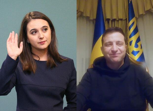 Зеленський і Мендель, фотоколаж znaj.ua