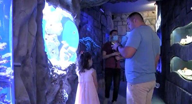 """Во Львове открылся первый океанариум, дети визжат от восторга: """"Мама, купи билет"""""""