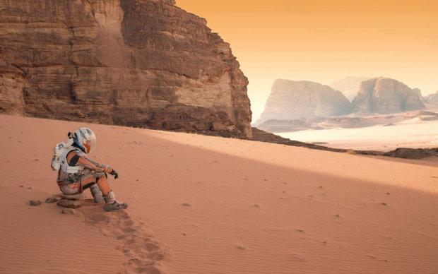 людина на Марсі