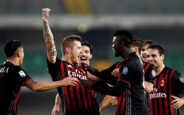 Милан представил выездной вариант формы на следующий сезон