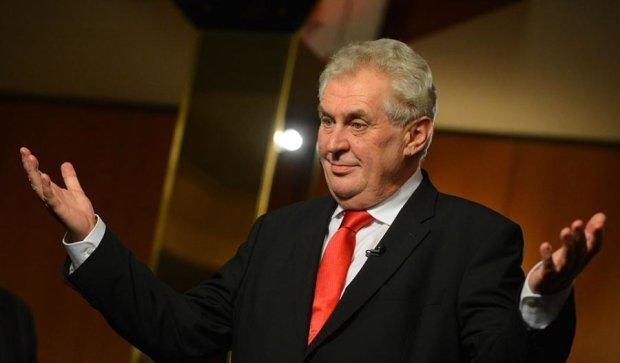 Чешский президент признался, что он агент Путина