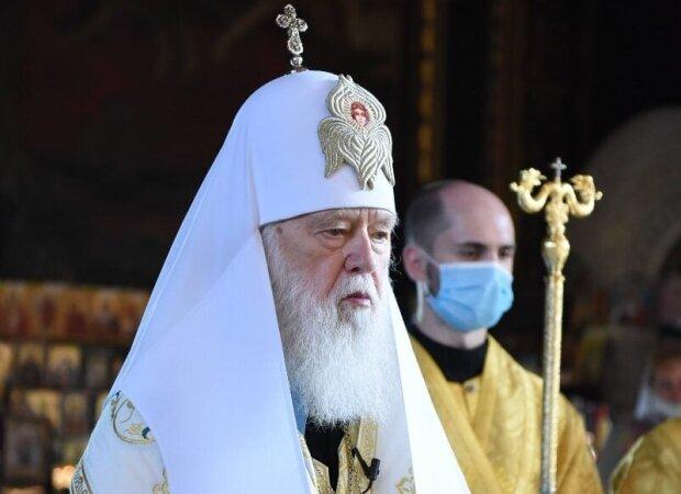 Патріарх Філарет, фото Facebook