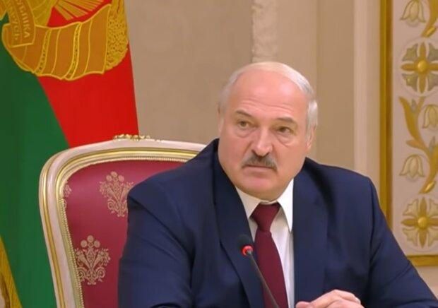 Александр Лукашенко, скриншот видео