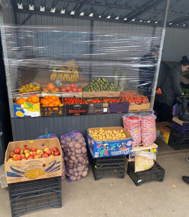 Стихийные рынки, фото: Телеграмм / Pavlovsky News