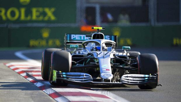 Mercedes і Ferrari завоювали подіум на Гран-прі Азербайджану