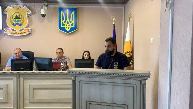 акция против городского головы Владимира Струка