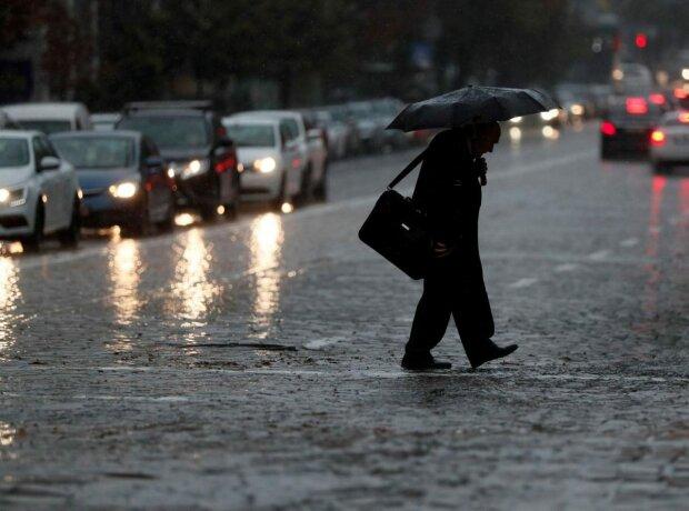 Дощова погода, фото Уніан