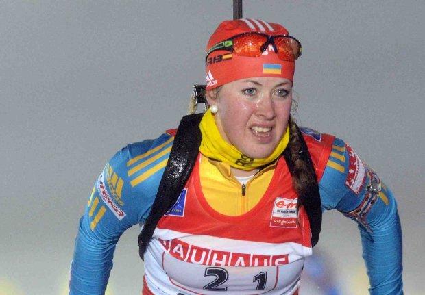 Українська біатлоністка Джима виграла першу гонку в сезоні