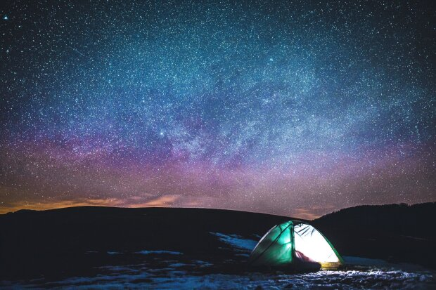 зоряне небо, фото Pxhere