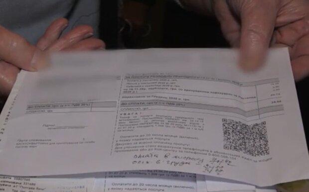Коммунальные тарифы, кадр из видео