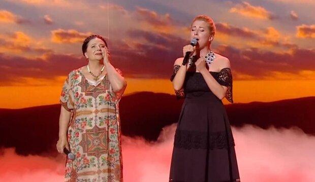 Тоня і Ніна Матвієнко / скріншот з відео