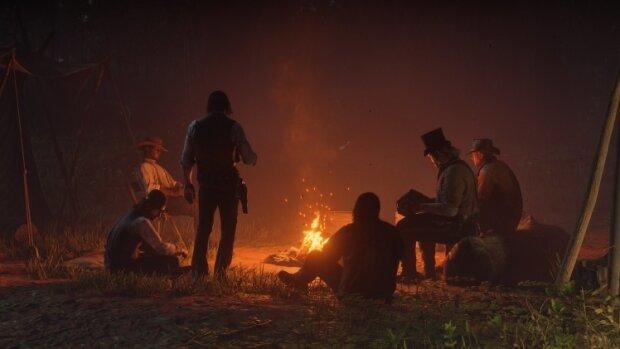 Кадр из игры Red Dead Redemption -2