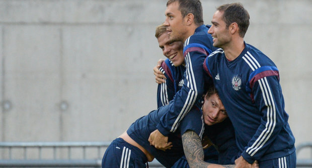російські футболісти