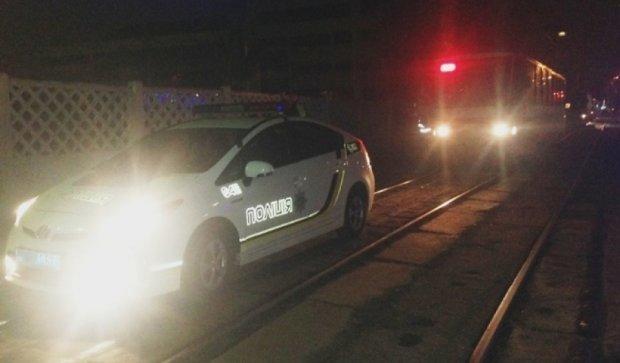 У столиці патрульні зупинили п'яного водія трамвая (фото)