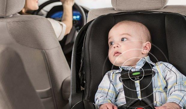 """""""Розумне"""" крісло нагадає батькам про забуту дитину в авто"""