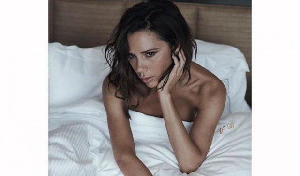 Вікторія Бекхем заради Vogue не встала з ліжка (фото)