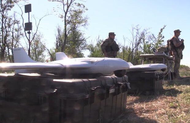 Ситуація на Донбасі, скріншот з відео