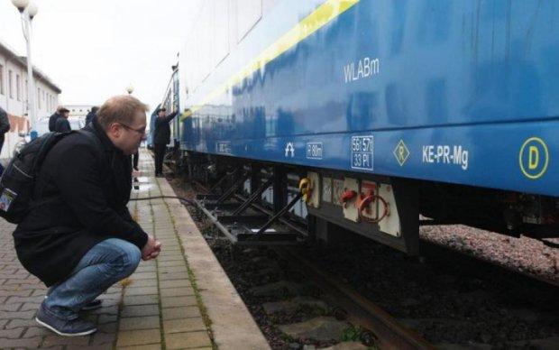 Поездка в один конец: дырявый поезд привел украинцев в бешенство