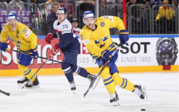 Швеція - Словаччина 4:2 Відео найкращих моментів матчу ЧС-2017 з хокею