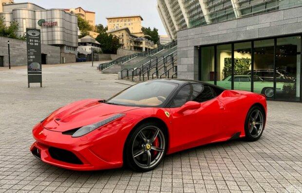Ferrari, скріншот: YouTube